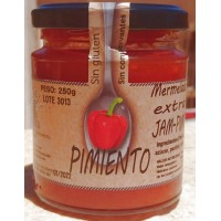 Isla Bonita - Pimiento Mermelada Extra Marmelade 75% 250g Glas produziert auf Gran Canaria