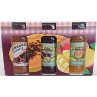 Valsabor - Pack de 3 Mermeladas Bienmesabe, Tuno Indio, Mango Marmeladen-Set 3x70g produziert auf Gran Canaria