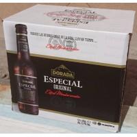 Dorada - Especial Original Extra Cerveza Bier 5,7% Vol. 12x 250ml Glasflasche produziert auf Teneriffa