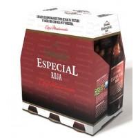 Dorada - Especial Roja Bier 6,5% Vol. 6x 250ml Glasflaschen produziert auf Teneriffa