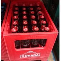 Dorada - Pilsen Cerveza Bier 4,7% Vol. 24x 330ml Glasflaschen Mehrweg in Pfandkiste produziert auf Teneriffa