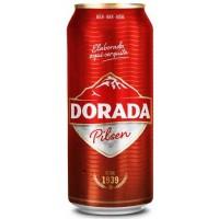 Dorada - Pilsen Cerveza Bier 4,7% Vol. 500ml Dose produziert auf Teneriffa
