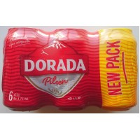 Dorada - Pilsen Bier 4,7% Vol. 6x 330ml Dose produziert auf Teneriffa