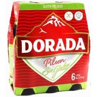 Dorada - Pilsen Cerveza sin gluten Bier glutenfrei 4,7% Vol. 250ml Glasflasche im 6er-Pack produziert auf Teneriffa
