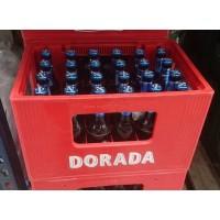 Dorada - Sin Alc. Bier alkoholfrei - 24x 330ml Glasflaschen mit Kasten (inkl. Pfand) produziert auf Teneriffa