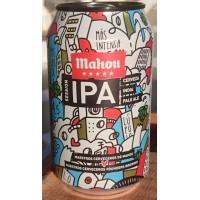 Mahou - Cinco Estrellas IPA Cerveza India Pale Ale Bier 4,5% Vol. 6x 330ml Dose produziert auf Teneriffa