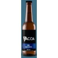 Tacoa - IPA Cerveza Sin Alcohol Craft Beer IBU Bier alkoholfrei 0,5% Vol. Glasflasche 330ml produziert auf Teneriffa