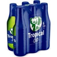 Tropical - 0,0 Cerveza Sin Alcohol alkoholfreies Bier 6x 250ml Glasflasche produziert auf Gran Canaria