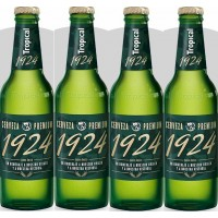 Tropical - 1924 Cerveza Premium Bier 6,4% Vol. 4x 330ml Glasflasche produziert auf Gran Canaria