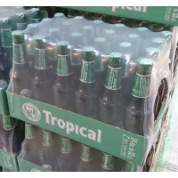 Tropical - Pilsen Cerveza Bier Retractil 4,7% Vol. 24x 330ml Flasche Stiege produziert auf Gran Canaria