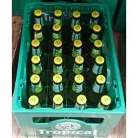 Tropical - Cerveza con Limon Bier Radler 2,6% Vol. 330ml 24 Glasflaschen in Mehrweg-Pfandkiste produziert auf Gran Canaria