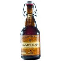 Viva - La Morena Cerveza kanarisches Bier 5,5% Vol. 20x 330ml Glasflasche inkl. Pfand produziert auf Gran Canaria