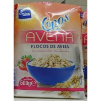Emicela - Copos de Avena Haferflocken 500g Tüte produziert auf Gran Canaria