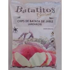 Batatito's - Gourmet Chips de Batata de Jable Lanzarote sin gluten Kartoffelchips 100g Tüte produziert auf Lanzarote