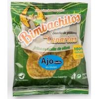 Bimbachitos de Canarias - Ajo Garlic Bananenchips mit Knoblauch 90g produziert auf El Hierro