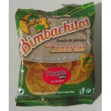 Bimbachitos de Canarias - Picante Spicy Bananenchips pikant 90g produziert auf El Hierro