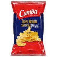 Cumba - Chips Papas Fritas Natural Original Onduladas Con Sal 160g produziert auf Gran Canaria