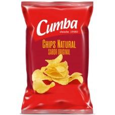 Cumba - Chips Natural Sabor Original kanarische Kartoffelchips gesalzen 160g produziert auf Gran Canaria