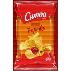 Cumba - Chips Sabor Paprika kanarische Kartoffelchips Paprika 150g produziert auf Gran Canaria