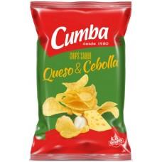 Cumba - Chips Queso y Cebolla kanarische Kartoffelchips Käse & Zwiebeln 150g produziert auf Gran Canaria