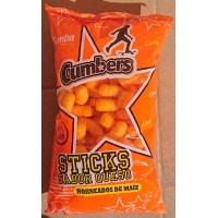 Cumba - Cumbers Sticks Sabor Queso 140g Tüte produziert auf Gran Canaria