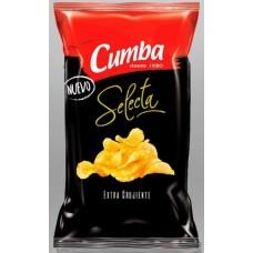 Cumba - Selecta Chips Extra Crujiente Papas Fritas Kartoffelchips 120g produziert auf Gran Canaria