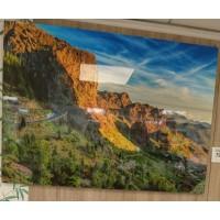 Tablas Montana Gran Canaria Alto Brillo Hochglanzfoto auf Kunststoffplatte Bild Raumdeko 100x140cm