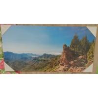 Tablas Montana Gran Canaria Alto Semi Brillo Fotobild auf Kunststoffplatte Bild Raumdeko 60x120cm
