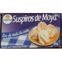 Doramas - Bizcochos de Moya - Suspiros de Moya 200g im Karton produziert auf Gran Canaria