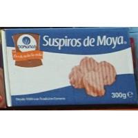 Doramas - Bizcochos de Moya - Suspiros de Moya 300g im Karton produziert auf Gran Canaria