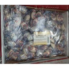 Dulceria Nublo - Almendras Rellenas mandelförmige Oblaten mit Mandelcreme 2kg produziert auf Gran Canaria