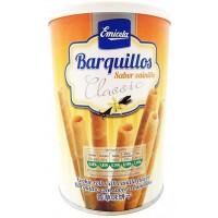 Emicela - Cookie Roll Vanilla Flavor Classic Barquillo 200g Dose produziert auf Gran Canaria