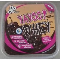 GoFood - Yahoo! Whey double choco white Chips Kekse mit 25g Protein 225g Becher produziert auf Teneriffa