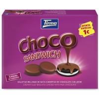 Tirma - Choco Sandwich Doppelkeks gefüllt, überzogen mit Vollmilchschokolade 3x 40g (120g) produziert auf Gran Canaria