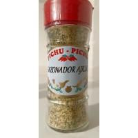 Pichu Pichu - Sazonador Ajillo Knoblauchgewürz gemahlen 45g Streuerglas produziert auf Gran Canaria