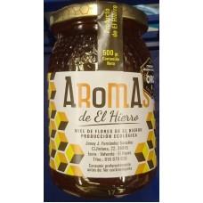 Aromas de El Hierro - Miel de Flores Ecologica Bio-Blütenhonig 500g Glas produziert auf Gran Canaria