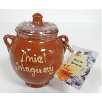 Valsabor - Miel de Romero Tinajas de Barro Honig im Keramikbescher 250g produziert auf Gran Canaria
