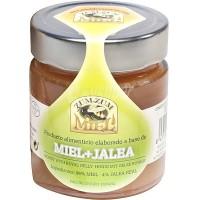 Zum-Zum Miel - Miel + Jalea Bienenhonig mit Gelee Royal Glas 340g produziert auf Teneriffa