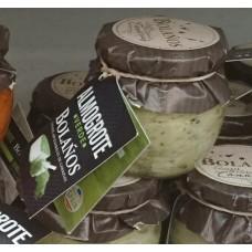 Bolanos - Almogrote Verde grüne kanarische Käsepaste 90g Glas produziert auf Teneriffa (Kühlware)