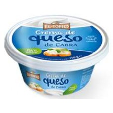 El Tofio - Crema de Queso de Cabra Ziegen-Frischkäse 150g Becher produziert auf Fuerteventura (Kühlware)