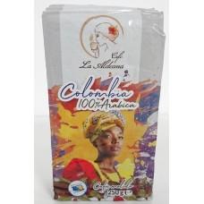 Cafe la Aldeana - Cafe Colombia 100% Arabic Röstkaffee gemahlen 250g Brick produziert auf Gran Canaria