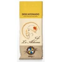 Cafe la Aldeana - Cafe Molido Natural Descafeinado Röstkaffee entkoffeiniert 200g angebaut und produziert auf Gran Canaria