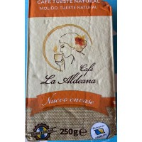 Cafe la Aldeana - Cafe Molido Tueste Natural Röstkaffee gemahlen 250g Päckchen produziert auf Gran Canaria