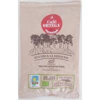 Cafe Ortega - Cafe Molido Natural Eco Finca La Bendicion Bio-Röstkaffe gemahlen 200g Tüte produziert auf Gran Canaria