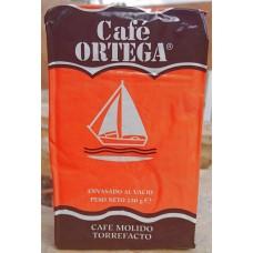 Cafe Ortega - Cafe Molido Torrefacto Röstkaffee gemahlen 250g Karton produziert auf Gran Canaria