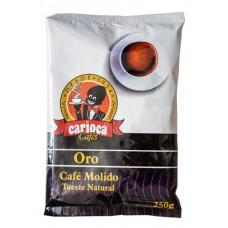 Carioca - Cafe Oro Molido Tueste Natural Röstkaffee gemahlen 250g Tüte produziert auf Teneriffa