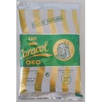 Caracol - Café Moka el Caracol Oro Tueste Natural Molido Kaffee gemahlen 250g Tüte produziert auf Teneriffa