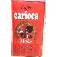 Carioca - Cafe Moka Molido Tueste Natural Röstkaffee gemahlen 250g Päckchen produziert auf Teneriffa
