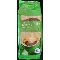 Carrefour - Cafe Molido Mezcla Röstkaffee gemahlen 250g Tüte produziert auf Gran Canaria