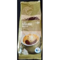 Carrefour - Cafe Molido Natural Röstkaffee gemahlen 250g Tüte produziert auf Gran Canaria